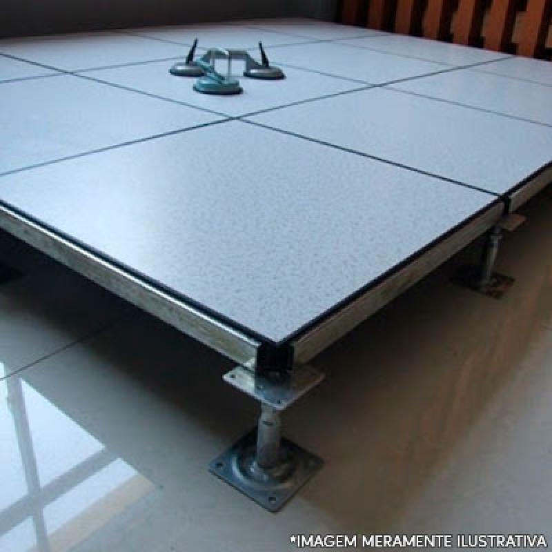 Fornecedor de Piso Elevado para Sala Renascença - Piso Elevado com Carpete