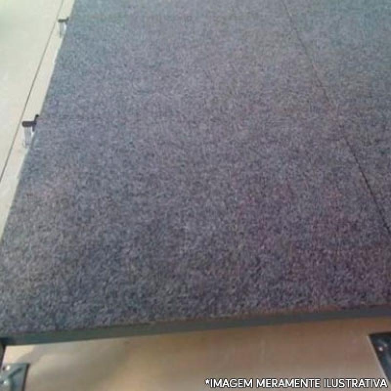 Instalação de Piso Elevado com Carpete Cascavel - Piso Elevado