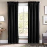 cortina na sala Nova Esperança