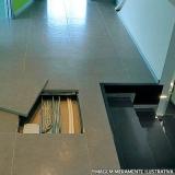 fornecedor de piso elevado em ardosia Wenceslau Braz