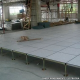 instalação de piso elevado para sala Floresta